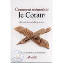 Comment mémoriser le Coran? sur Librairie Sana