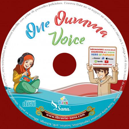 Album audio CD : ONE OUMMA VOICE avec Amine RAHALI & Hela Najjar & Chorales