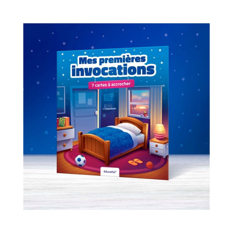 Mes premières Invocations - 7 cartes à accrocher  (Arabe-Français) - Educatfal