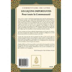 Commentaire du livre Les leçons importantes pour toute la communauté
