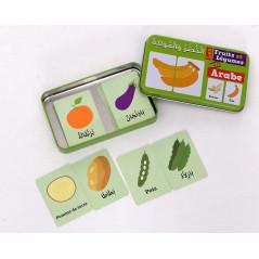 """Ma boîte puzzle DUO """"Fruits et Légumes"""""""