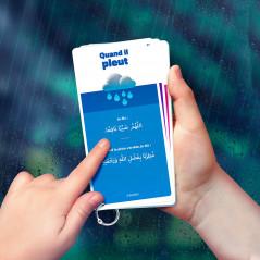 DOU'A POCKET Mes Invocations du quotidien 50 Cartes (Arabe- Français- Phonétique)