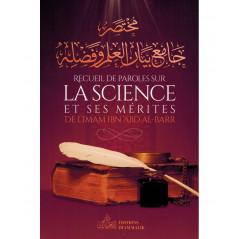 Recueil de Paroles sur La Science et Ses Mérites, de l'imam Ibn 'Abd Al-Barr