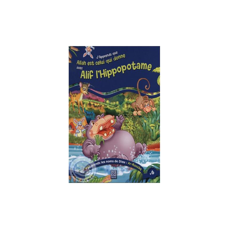 Alif l'Hippopotame sur Librairie Sana
