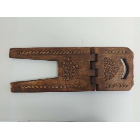 Pupitre en Bois - Porte Livre Pliable, Lutrin de lecture Travail Artisanal à la main (60x23cm)