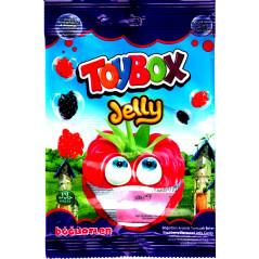 ToyBox Jelly böğürtlen (Mûre rouge & noire) - Bonbons Halal gélifiés à la mûre - Sachet de 80 g
