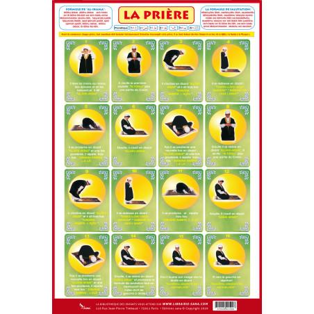 Poster La Prière du petit musulman (40X60cm) sur Librairie Sana