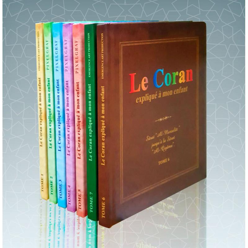 Pack : Le Coran expliqué à mon enfant (7 tomes)