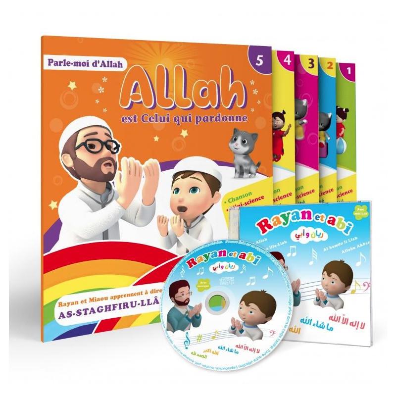 Pack : Parle-moi d'Allah (le pack 4 livres + CD )
