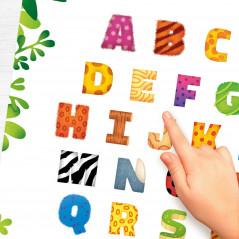 Mes alphabets Arabe & Français: 2 grands posters + 2 Planches de Stikers