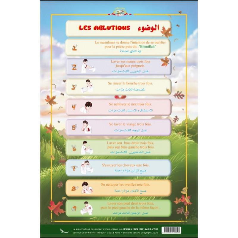 Poster L'ablution du petit musulman (40X60cm)