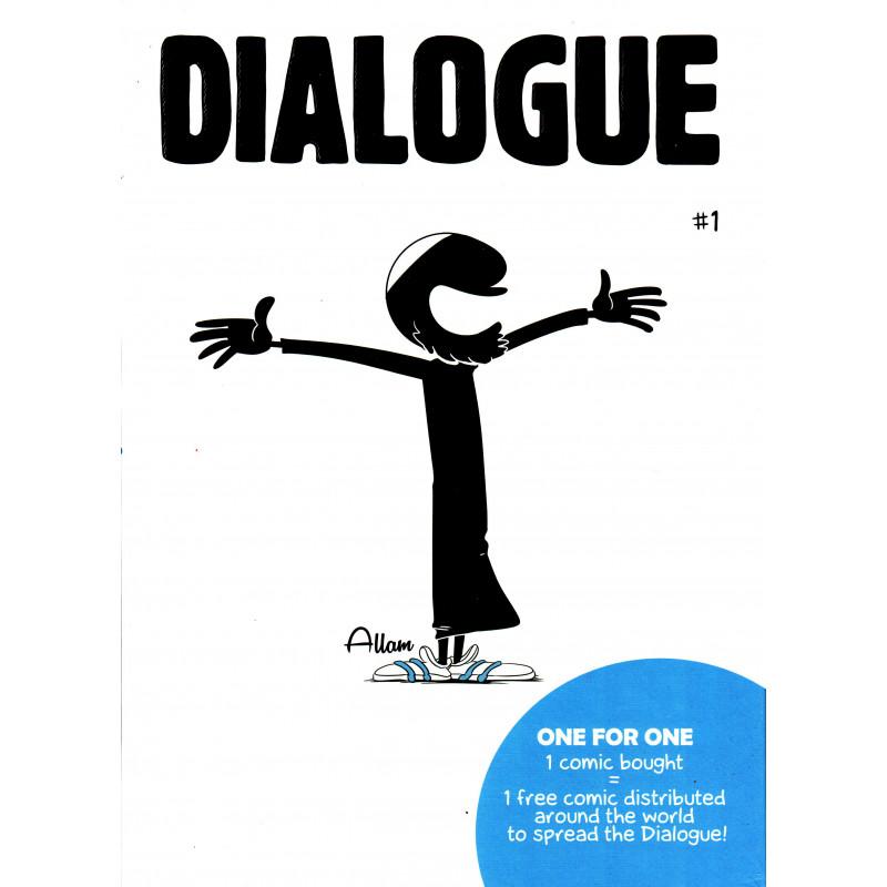 DIALOGUE 1, Comic of Norédine Allam, Édition BDouin (English)