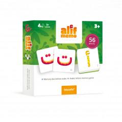 Alif Memo: 56 Cartes pour apprendre les lettres en s'amusant (Dès 3 ans) - Educatfal