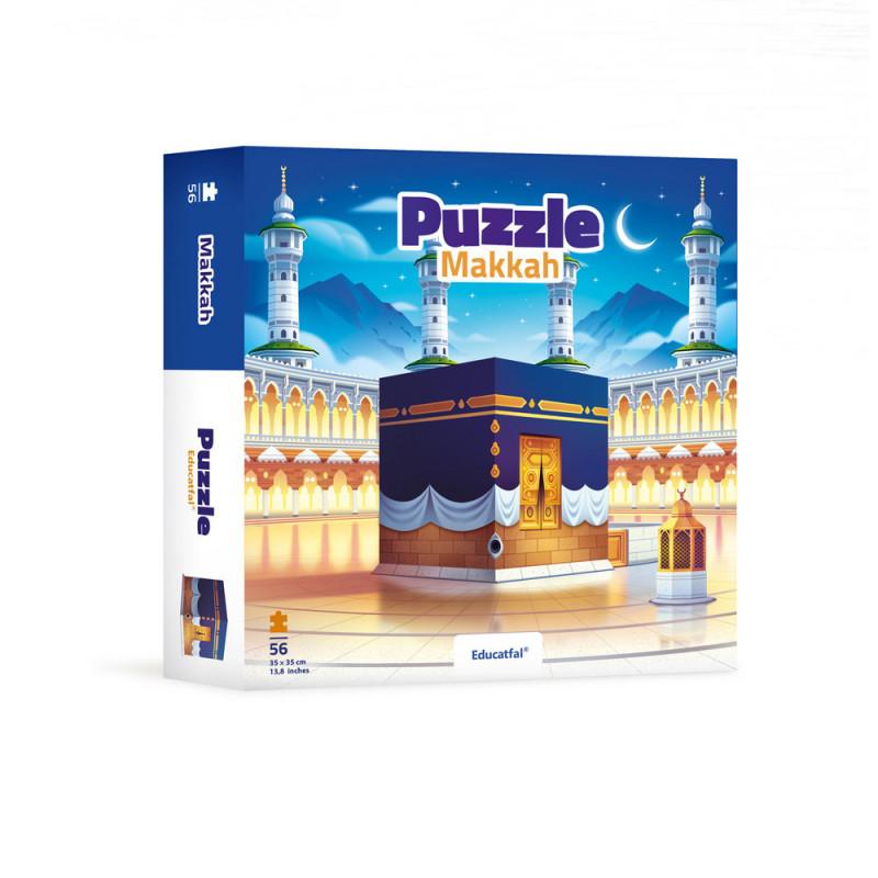 Puzzle Makkah (56 pièces) - Educatfal