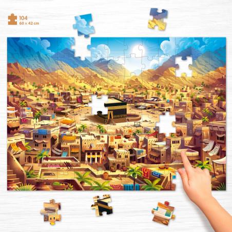 Puzzle Big Makkah (104 pièces) - Educatfal