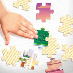 Puzzle Madinah Educatfal : Puzzle de 56 pièces de la mosquée de Médine