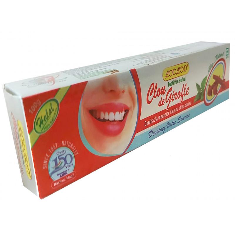 Dentifrice à base de Menthol