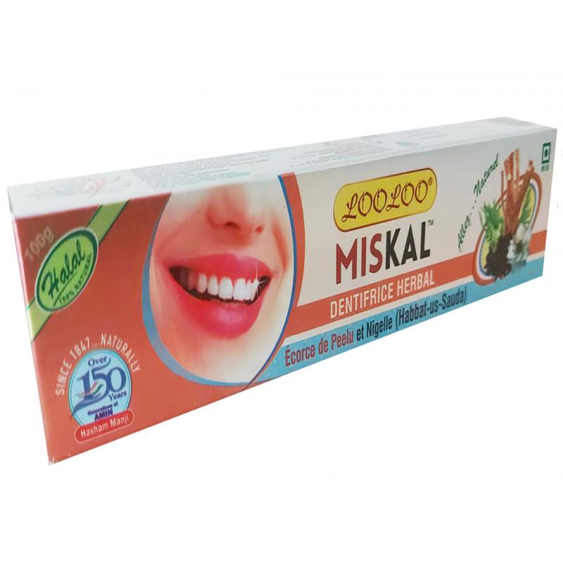 Dentifrice à base de Nigelle & Siwak
