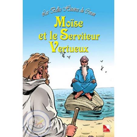 Les belles histoires du Coran (Moïse et le serviteur vertueux) sur Librairie Sana
