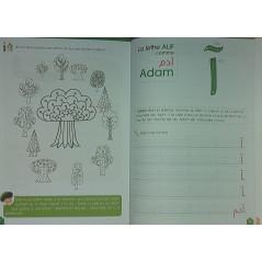 J'apprends L'alphabet arabe - avec les grands personnages de l'Islam (Cahier d'activité dès 4 ans)