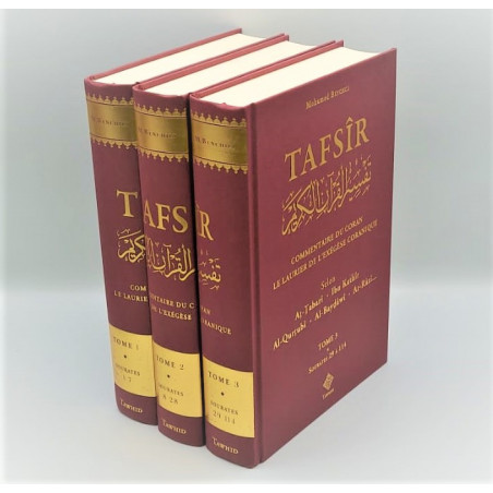 TAFSIR - Commentaire du Coran - Le Laurier de L'Exegese Coranique selon Tabari,Ibnkathir, Alqurtubi,AlBaydawi,ArRazi