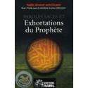 Paroles sages et exhortations du prophète sur Librairie Sana