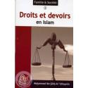 Droits et devoirs en Islam sur Librairie Sana
