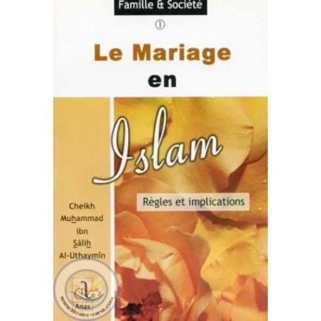 Le mariage en islam sur Librairie Sana