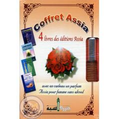 coffret ASSIA : 4 livres concernant la femme