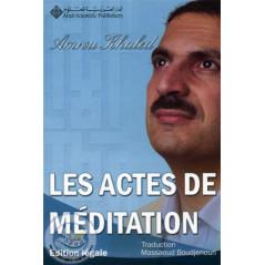 Les actes de meditation