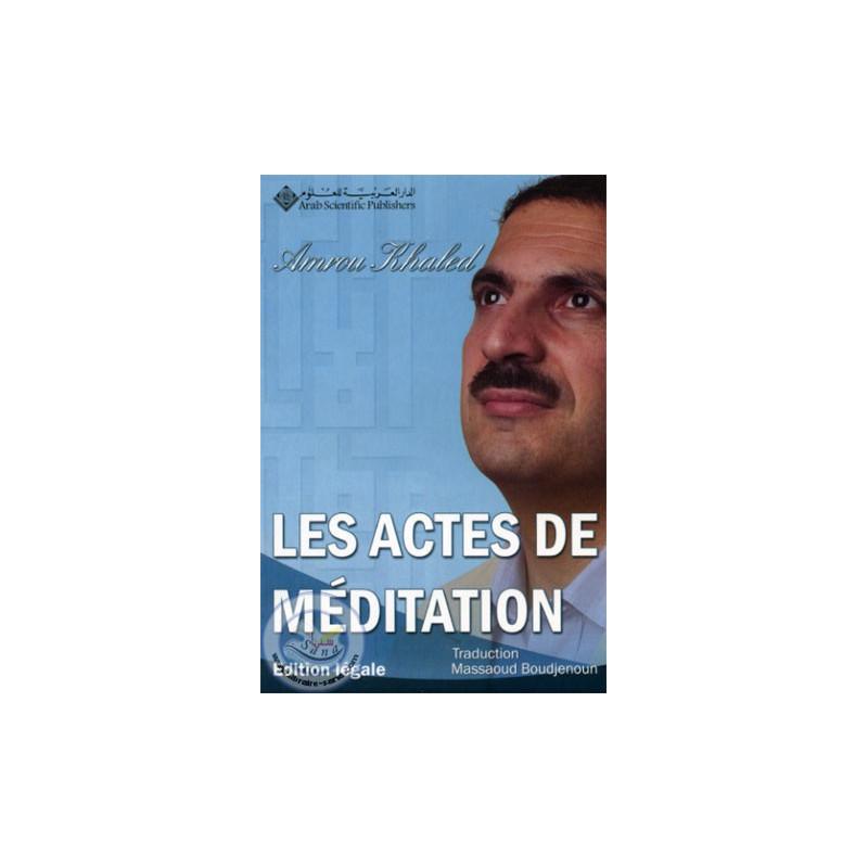 Les actes de meditation sur Librairie Sana