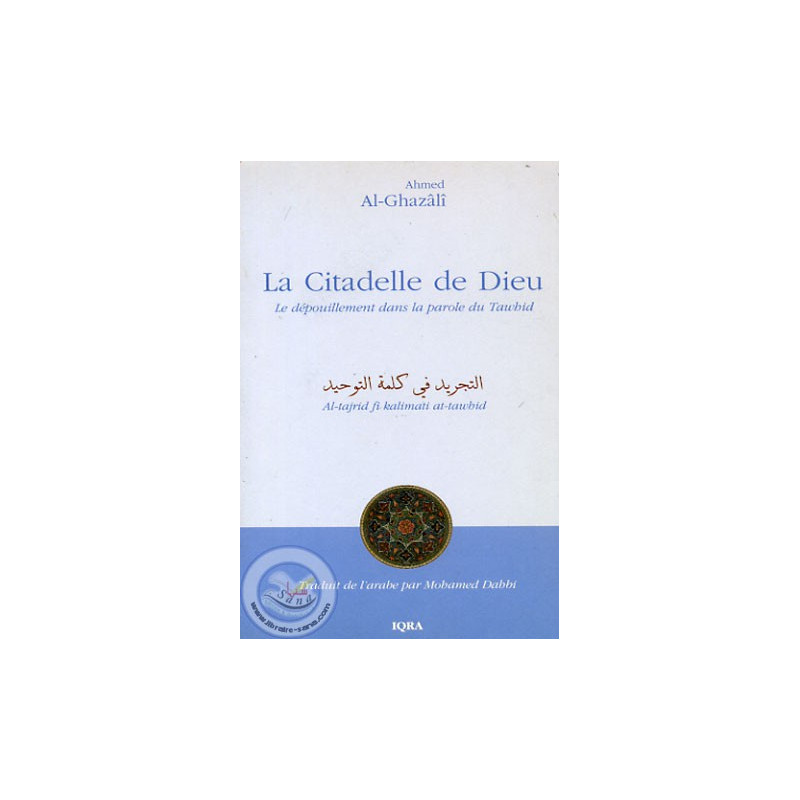 La Citadelle de Dieu sur Librairie Sana