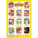 Poster Les bonnes manières du petit musulman (40X60cm) sur Librairie Sana