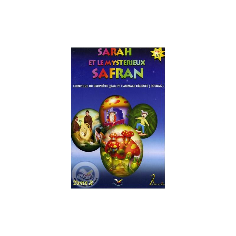 Sarah et le Mysterieux Safran sur Librairie Sana