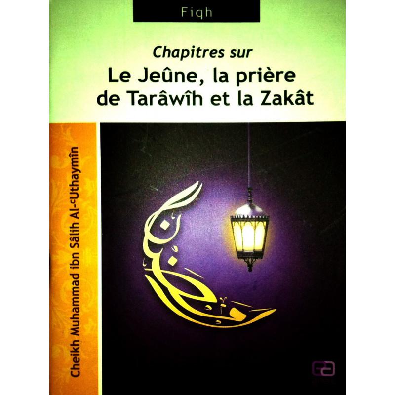 Le Jeûne, la prière de Tarawih et la Zakat sur Librairie Sana