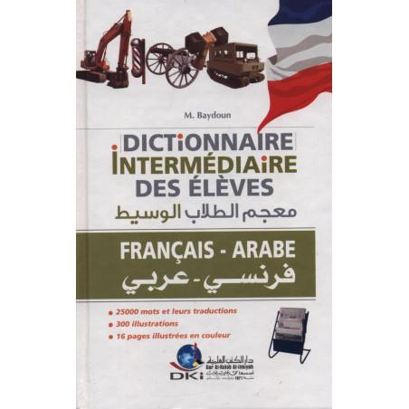 Dictionnaire intermédiaire des élèves français-arabe