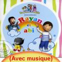 CD Rayan et Abi (avec musique) sur Librairie Sana