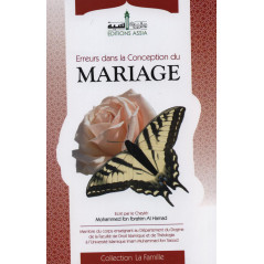 Erreurs dans la conception du Mariage