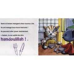 Sami apprend à dire.. HAMDOULILLAH