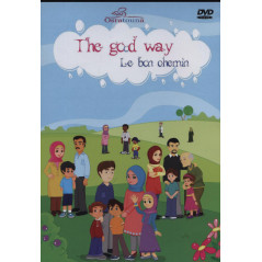 DVD The good way. Le bon chemin. Dessin animé educatif
