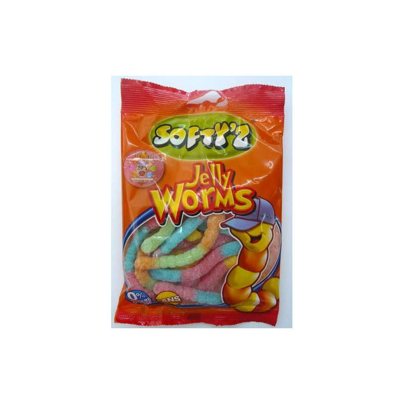 Bonbons: Softy'z Halal Confiserie (JELLY WORMS)