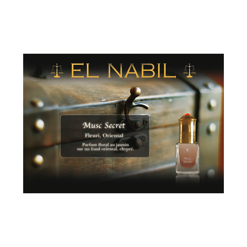 Parfum El Nabil - Musc Secret