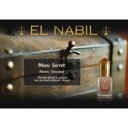Parfum El Nabil - Musc Secret - 5 ml