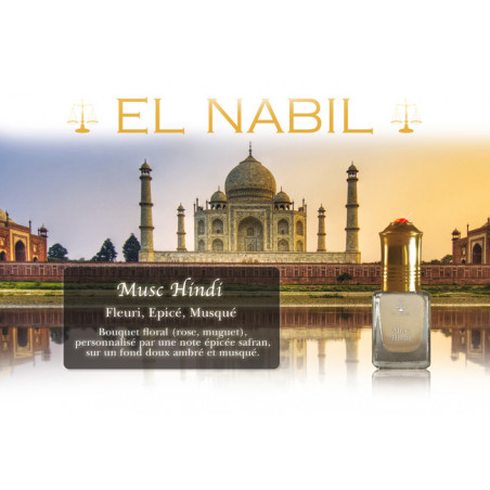 Parfum El Nabil - Musc Hindi - 5 ml