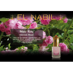 Parfum El Nabil - Musc Rose - 5 ml