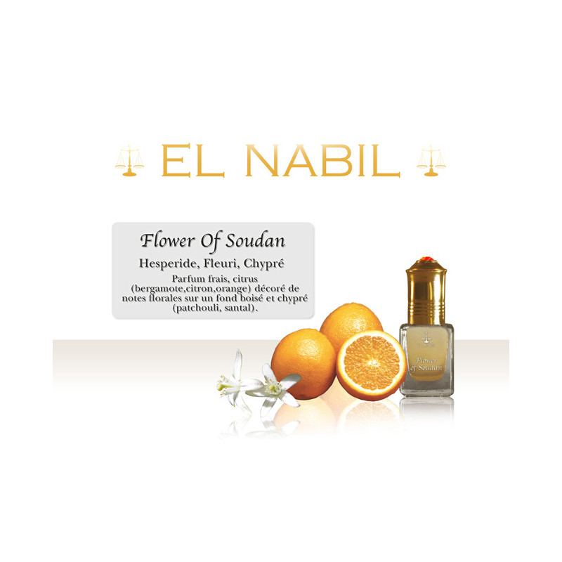 Parfum El Nabil - Flower of Soudan - 5 ml
