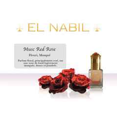Parfum El Nabil - Musc Red rose - 5 ml