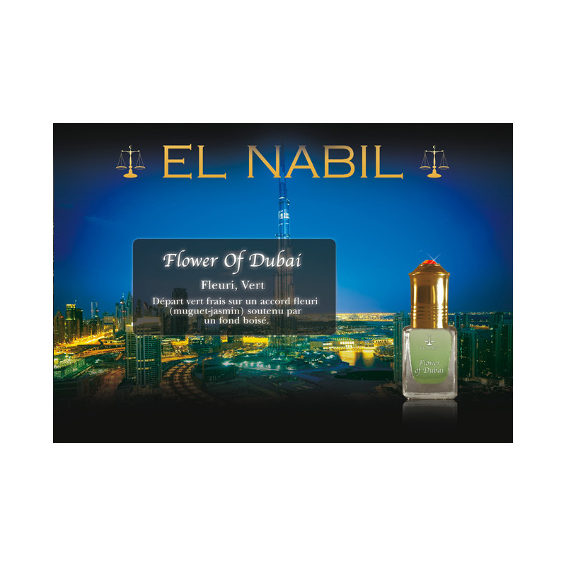 Parfum El Nabil - Flower of Dubai - 5 ml