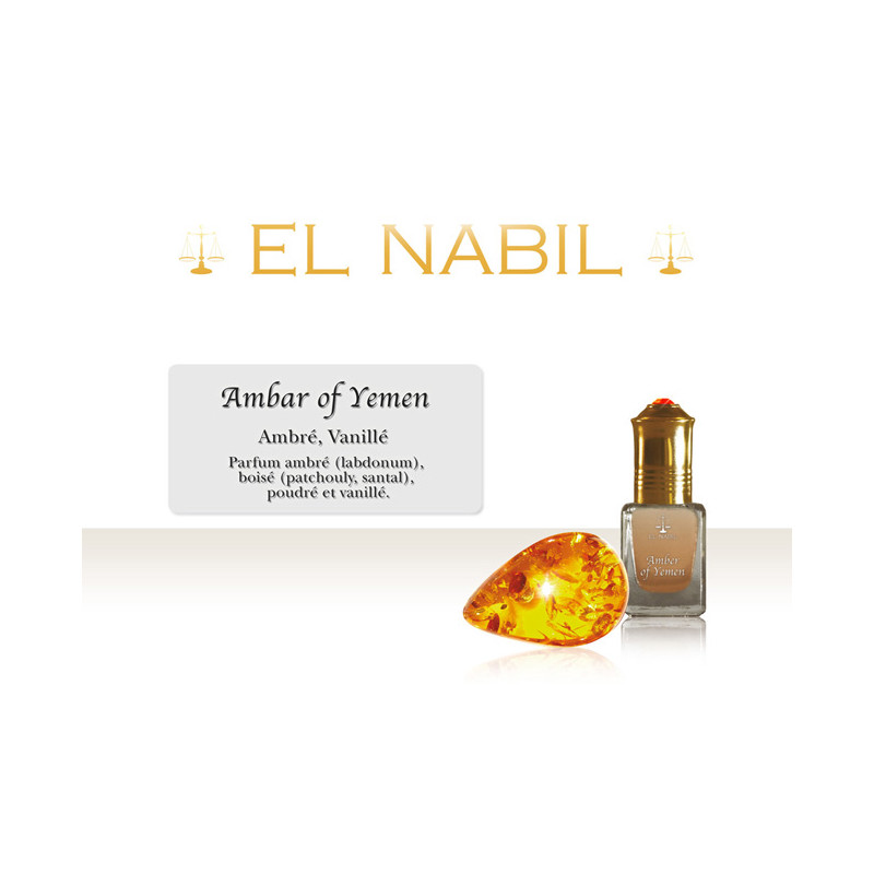 Parfum El Nabil - Amber of Yemen - 5 ml