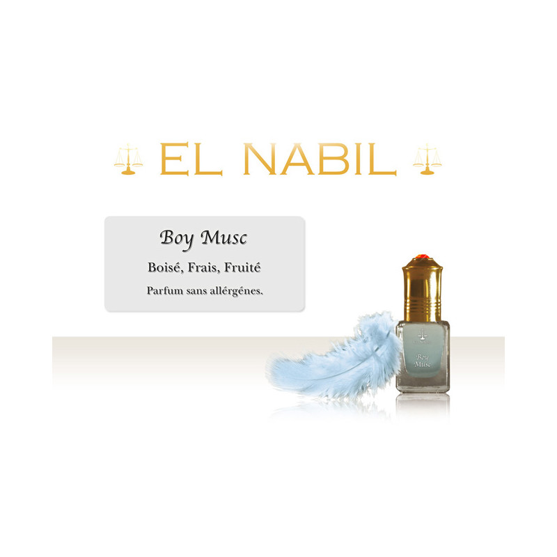 Parfum El Nabil - Boy Musc - 5 ml